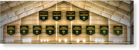 Championship Banners Canvas Print