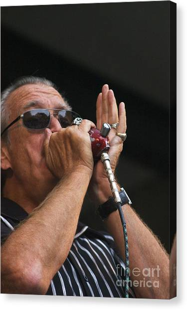 Charlie Musselwhite Canvas Print