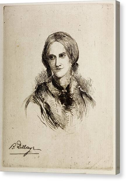 English And Literature Canvas Print - Charlotte Bronte by British Library