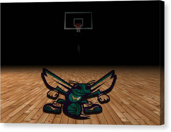 Ball State University Canvas Print - Charlotte Hornets by Joe Hamilton