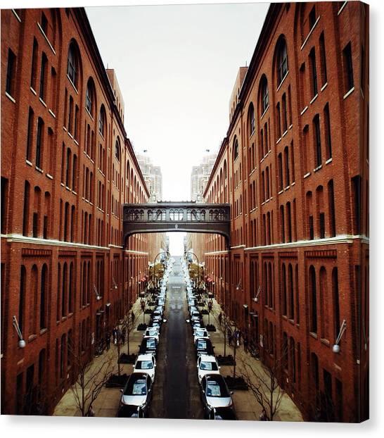 New York City Canvas Print - Chelsea Symmetry by Natasha Marco