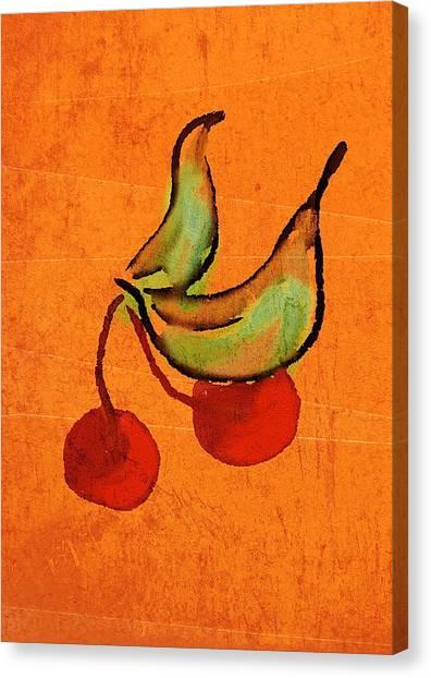 Cherries Canvas Print