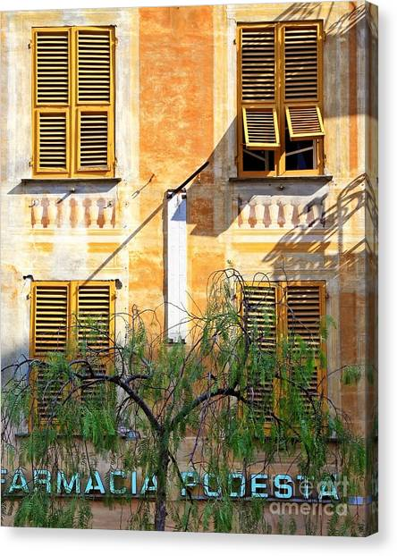 Chiavari Windows Canvas Print