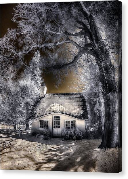 Children's Cottage Canvas Print