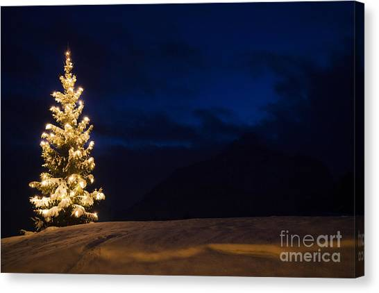 Christmastree Canvas Print