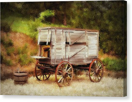 Chuck Wagon Canvas Print