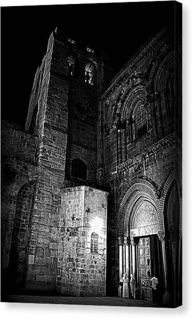 Church Of The Holy Sepulchre Canvas Print by Amr Miqdadi