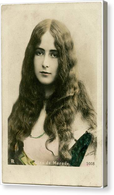 Merode Canvas Print - Cleo De Merode (1875 - 1966), French by Mary Evans Picture Library