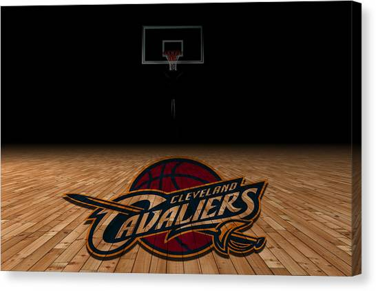 Cleveland State University Canvas Print - Cleveland Cavaliers by Joe Hamilton