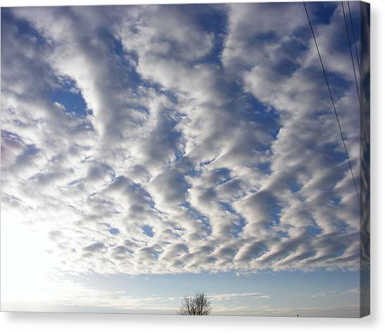 Cloud Deck Canvas Print