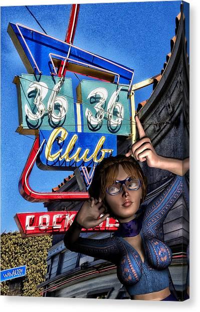 Club 36 Canvas Print