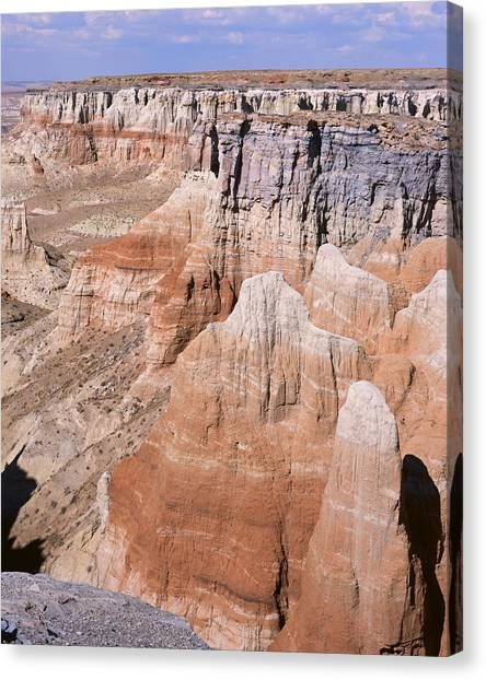 Coal Mine Canyon 1-v Canvas Print