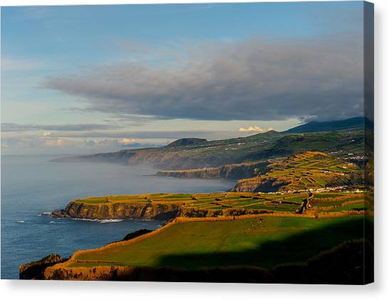 Coast Of Heaven Canvas Print