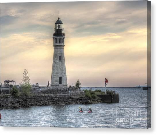 Coastguard Lighthouse Canvas Print