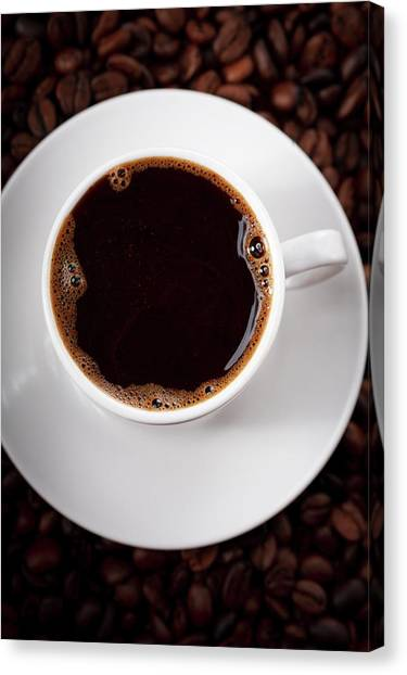 Coffee Cup Canvas Print