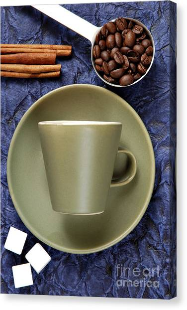 Coffee Beans Canvas Print - Coffee by HD Connelly