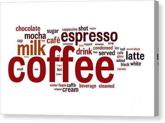 Coffee Canvas Print by Shawn Hempel
