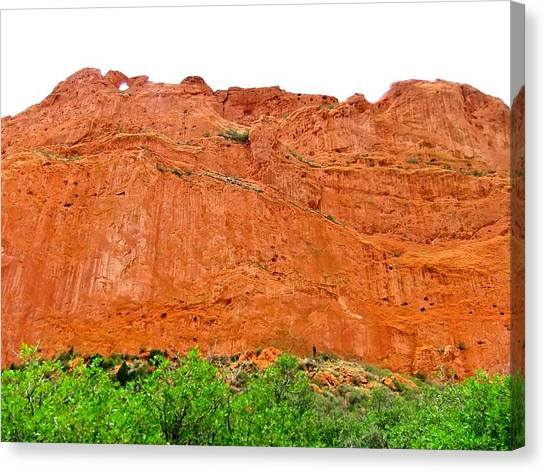 Red Rock Canvas Print - Colorado Landscape by Shannon Yeaton