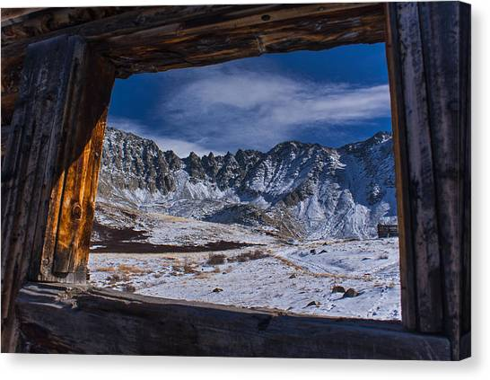 Colorado Mayflower Gulch Canvas Print by Michael J Bauer