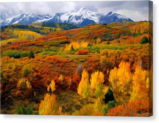 Colorful Colorado At It's Best Canvas Print