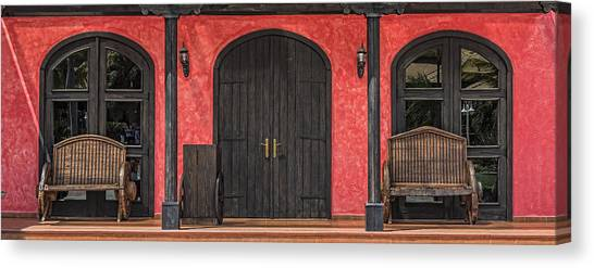Colorful Mexican Doorway Canvas Print