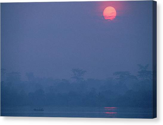 Congo River Canvas Print - Congo River by Robert Caputo