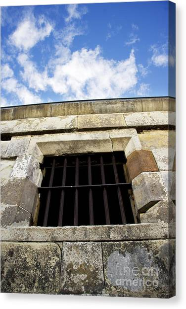 Dungeons Canvas Print - Convict Cell by Jorgo Photography - Wall Art Gallery