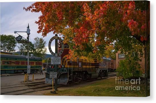 Conway Scenic Railroad Canvas Print