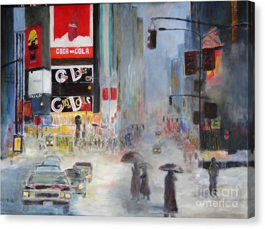 Cool New York Canvas Print