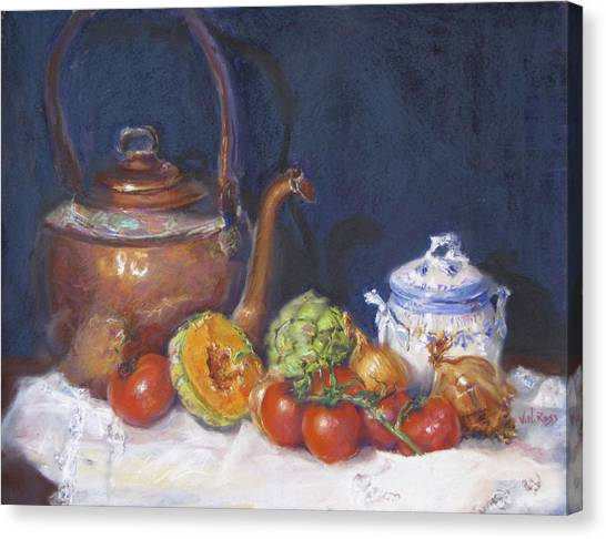 Copper Still Life Canvas Print
