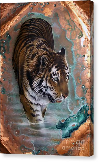 Copper Tiger I  Canvas Print