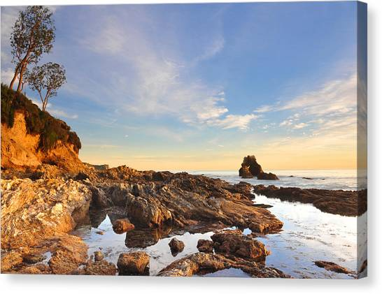 Corona Del Mar Beach Canvas Print