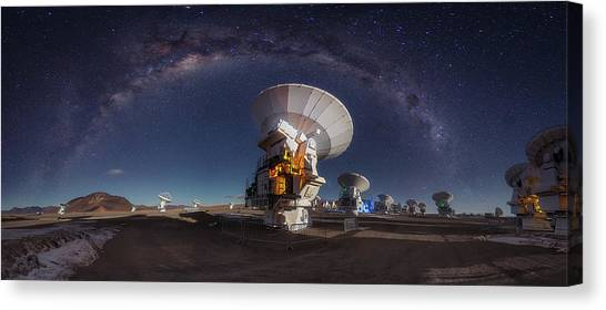 South American Canvas Print - Cosmos by Adhemar Duro