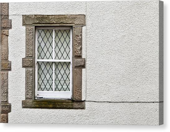 Window Canvas Print - Cottage Window by Tom Gowanlock