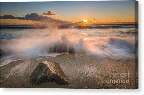 Mv Canvas Print - Crashing Waves by Michael Ver Sprill