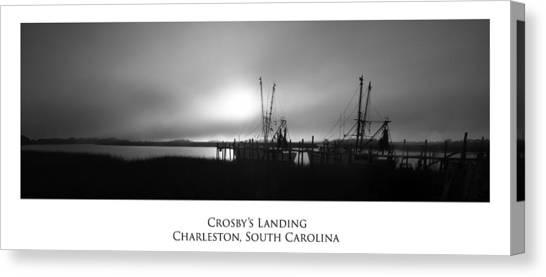 Crosby's Landing Canvas Print