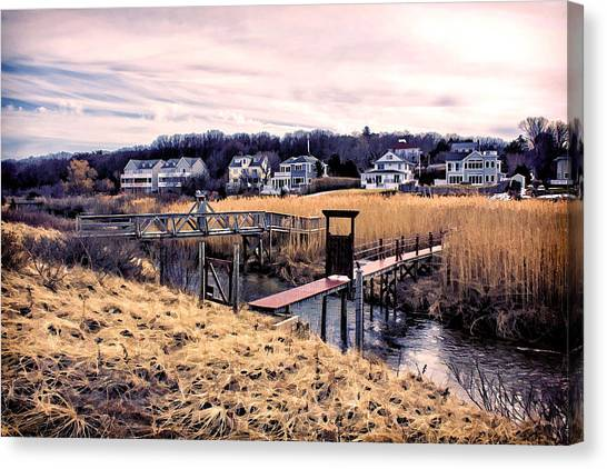 Crossing The Eel River  Canvas Print