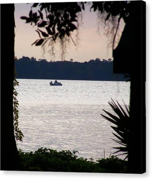 John Boats Canvas Print - Culley Cove by Cheryl Matthew