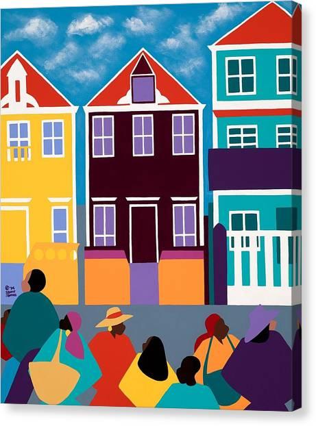 Canvas Print - Curacao Dreams by Synthia SAINT JAMES