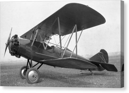 Curtiss Travelair J-6 Wright Engine Canvas Print by Hank Clark