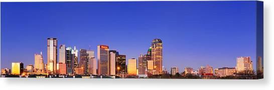 Dallas At Dawn Canvas Print