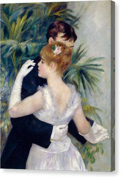 Honor Canvas Print - Dance In The City by Pierre-Auguste Renoir