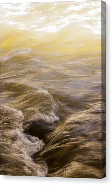Dance Of Water And Light Canvas Print