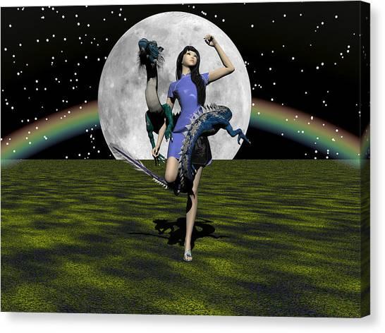 Dance Partners Canvas Print