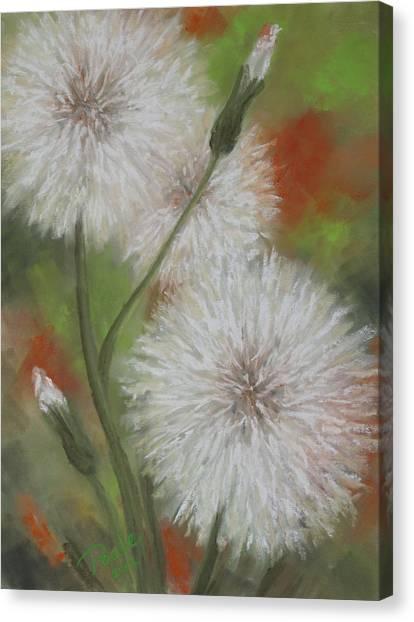 Dandelion Dance Canvas Print