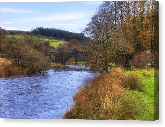 Moorland Canvas Print - Dartmoor - Two Bridges by Joana Kruse