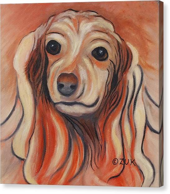 Daschound Canvas Print