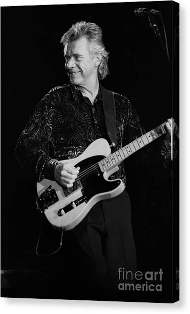 Ringo Starr Canvas Print - Dave Edmunds by Concert Photos