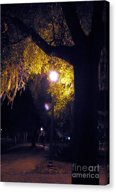 Davenport At Night Canvas Print