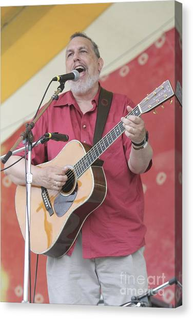 Folk Singer Canvas Print - David Bromberg by Concert Photos